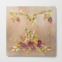Autumn Color Collections Metal Print