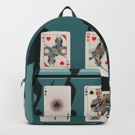 Persian Playing Cards Backpack