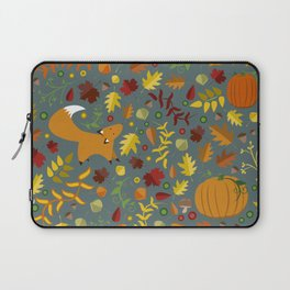 Fox In The Leaves Laptop Sleeve