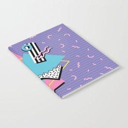 Memphis Pattern 57 - 80s - 90s Retro / 2nd year anniversary design Notebook