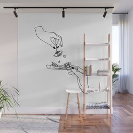 How to roll up your sadness? Wall Mural