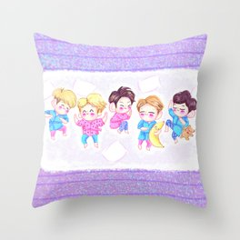 SHINee Sleepover Throw Pillow