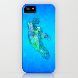 Sea Turtle Graphic iPhone Case