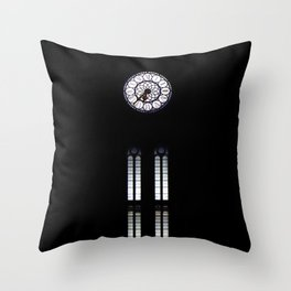 clock,time,hours Throw Pillow