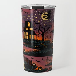 Halloween Night - Bonfire Glow Travel Mug