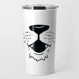 funny Animals Face Mask Designs Travel Mug