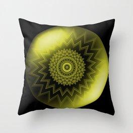 Solar Plexus Yellow Chakra Throw Pillow
