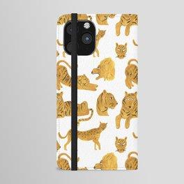 Tiger, Lion, Cheetah iPhone Wallet Case