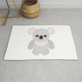 Funny cute koala Rug