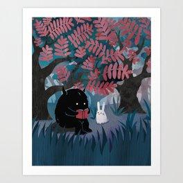 Another Quiet Spot Art Print