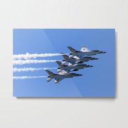 Thunderbirds Show Pass Metal Print