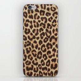 Leopard Print iPhone Skin