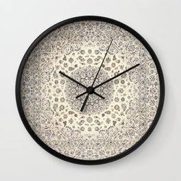 Bohemian Farmhouse Traditional Moroccan Art Style Texture Wall Clock