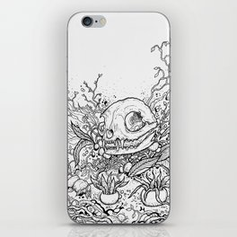 Dead Garden iPhone Skin
