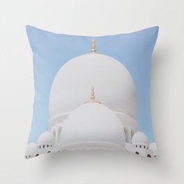 Sheikh Zayed Mosque II Throw Pillow