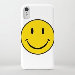 Smiley Happy Face iPhone Case