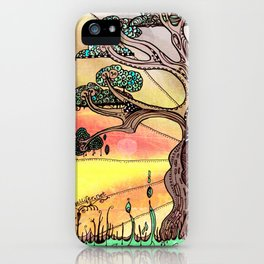 Drink the Wild Air by Rosemary Knowles, aka MaxillaMellifer iPhone Case
