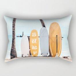 Choose Your Surfboard Rectangular Pillow