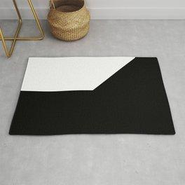 SNOB (BLACK-WHITE) Rug