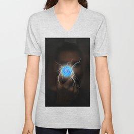 Energy Ball by GEN Z Unisex V-Neck