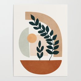 Soft Shapes III Poster