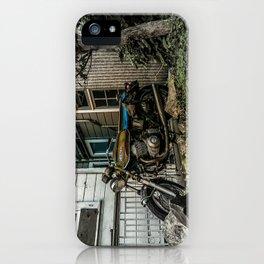 Backyard Benelli iPhone Case