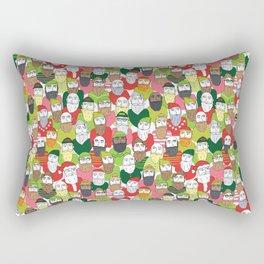 Where's Santa? Rectangular Pillow