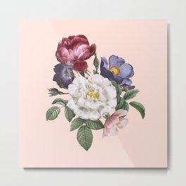 Pretty Floral Metal Print