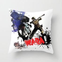 Poland Wara! Throw Pillow
