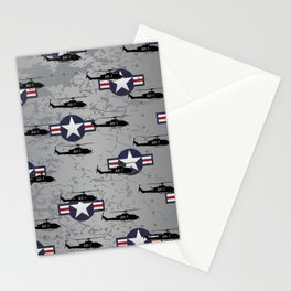 AH-1 Cobra Helicopter Stationery Cards