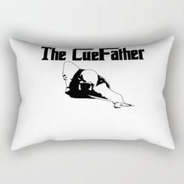 The Cuefather 8 Ball Pool Billiard Player Snooker Rectangular Pillow