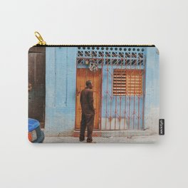 Cuban Doorway Carry-All Pouch