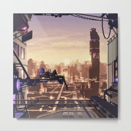 Neo Moscow Metal Print