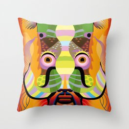 Dr. Freud Throw Pillow