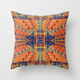 Deconstructing Anger Throw Pillow