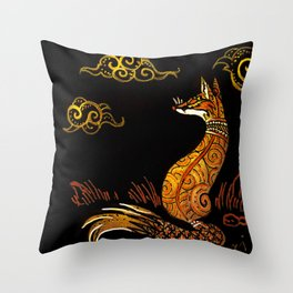 There Are No Foxes In Thailand Throw Pillow