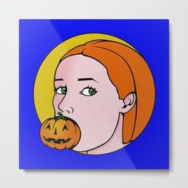 The Great Pumpkin Metal Print