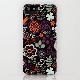 Seamless pattern can be used for wallpaper, pattern fills, web page background,surface textures. Gor iPhone Case