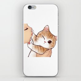 want to kiss iPhone Skin