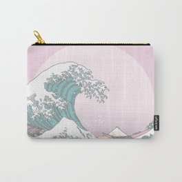 Great Wave Pastel Carry-All Pouch