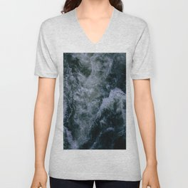 Churning Waters Unisex V-Neck