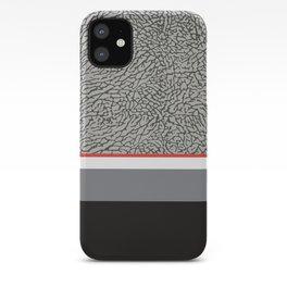 BLACK CEMENT iPhone Case