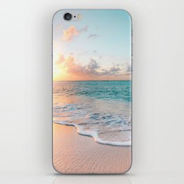 Pink Sea iPhone Skin
