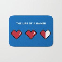 The Life of a Gamer Bath Mat