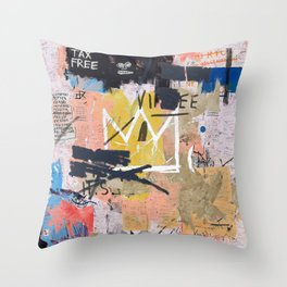 Boom For Real Throw Pillow