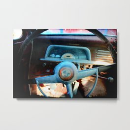 Slow Ride Metal Print