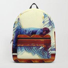Falling Behind Backpack