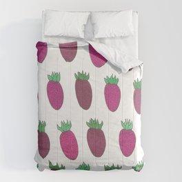 Sweet Strawberries Comforters