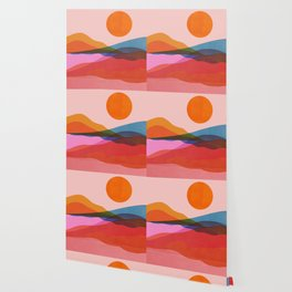Abstraction_OCEAN_Beach_Minimalism_001 Wallpaper
