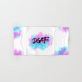 DGAF  Hand & Bath Towel